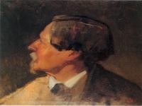 Retrato de Alejo Vera por Eduardo Rosales